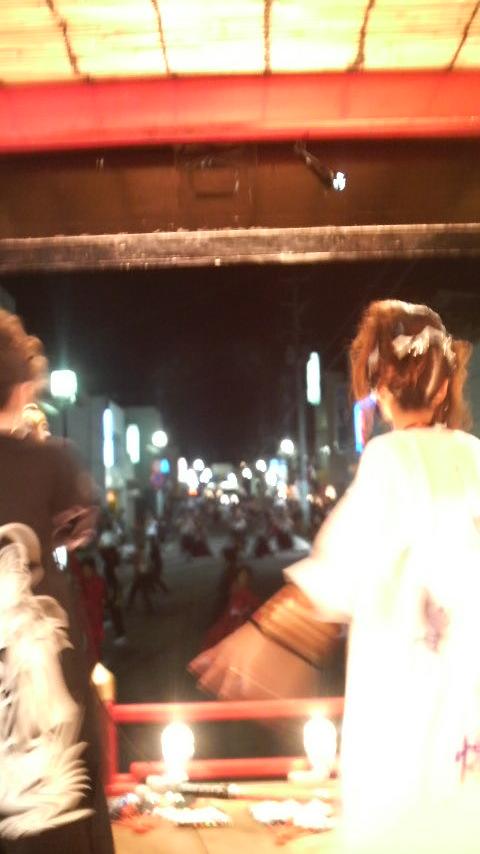 徳内祭り初日